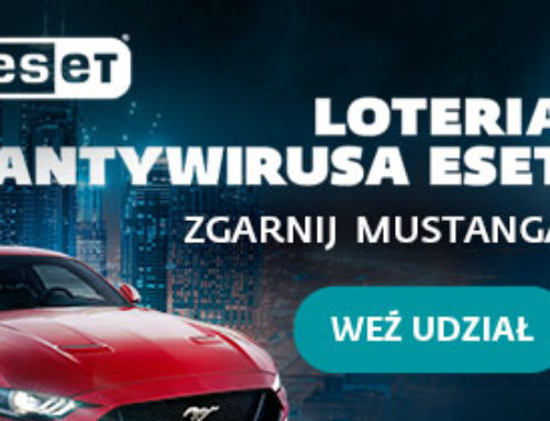 1 września 2021 rusza loteria dla klientów domowych ESET!